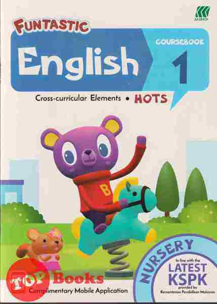 [TOPBOOKS Sasbadi UPH Kids] Funtastic Nursery English Coursebook 1 Malaysia