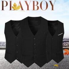 Áo ghi lê cho nam, áo vest công sở trang trọng không tay thường ngày 2020 6XL