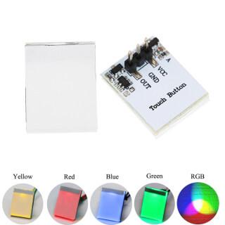 AOSHAQ Cảm Biến Điện Dung RGB 3V 5V 6V HTTM, Mô-đun Công Tắc Cảm Ứng Nút Nhiều Màu thumbnail