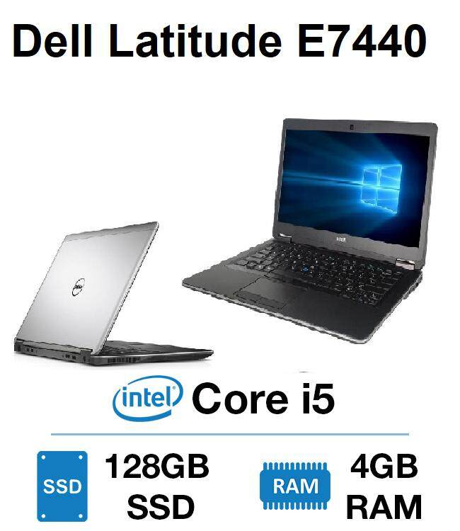 Dell Latitude E7440 14 LED Ultrabook / Intel Core i5 i5-4300U / 4GB DDR3 RAM / 128GB SSD / 1 Year Warranty Malaysia