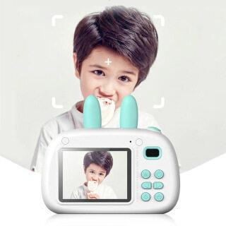 Phim Hoạt Hình Thỏ Trẻ Em Máy Ảnh Kỹ Thuật Số, Máy Quay Video Ảnh Mini USB 1080P thumbnail