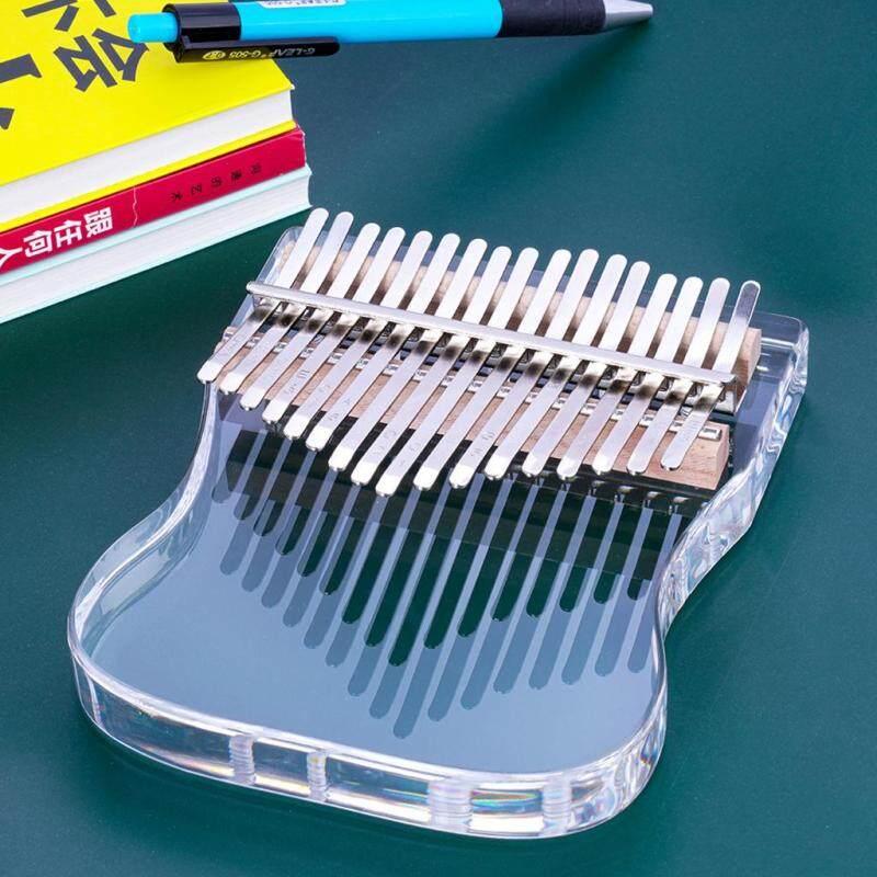 【New Ready Stock Cheap】Baoblaze Kalimba 17 Key Thumb Piano Clear Musical Instrument w/ Bag Tuner Hammer Calimba Best Gift for Friend Kid Malaysia
