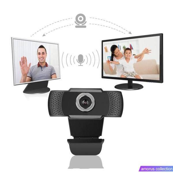 Amorus Webcam HD 1080P Megapixels USB Webcam Camera CMOS Sensor with Mic for Computer PC Laptops