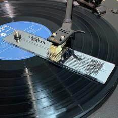 Công cụ điều chỉnh Đo acrylic Gương bền thực tế Chính xác LP Vinyl Turntable Hiệu chỉnh căn chỉnh Thước đo góc