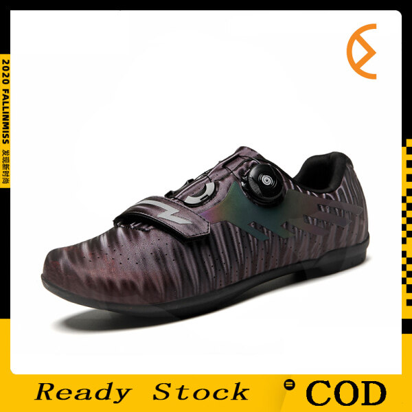 Cycling Shoes Road Bike Couple Shoes  Self-locking Professional Breathable Cleat Wear-resistant  Professional Training Shoes