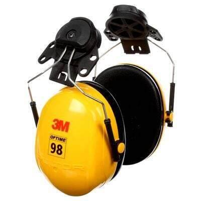 3M H9P3E Helmet Attached Peltor Optime 98 Series Earmuffs