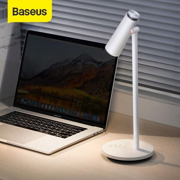 Bảng giá Đèn Bàn Baseus I-wok Đèn Ngủ LED Để Bàn Đèn Đọc Sách Bảo Vệ Mắt Đèn Bàn Làm Việc Văn Phòng Để Bàn Sạc USB Phong Vũ