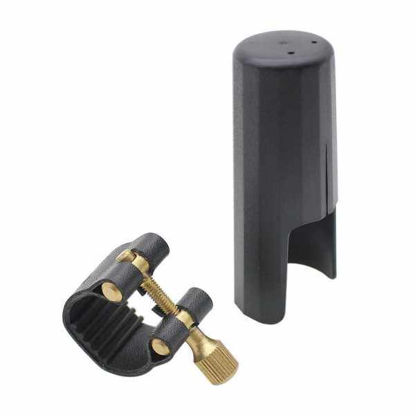 Leather Ligature Fastener with Plastic Cap for Clarinet Bakelite Mouthpiece Durable (Standard) Malaysia