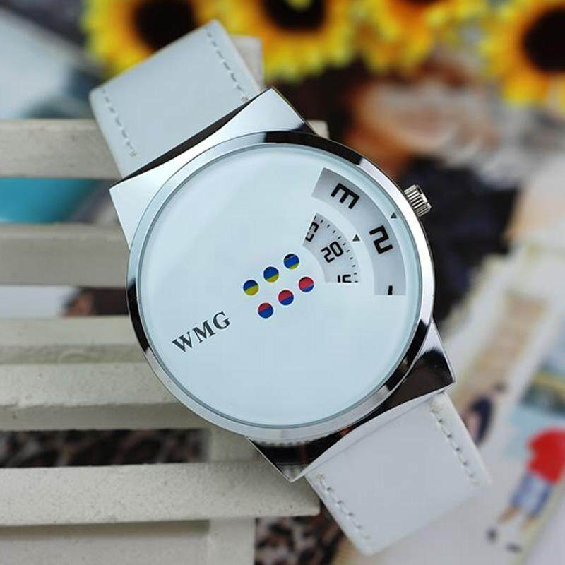 BPFAIR_Creative Colorful Carousel Scale Pu Leather Belt Ladies Watches Free shipping Malaysia