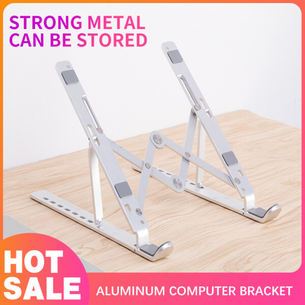 Portable Foldable Laptop Stand Adjustable Notebook Holder Aluminum Support For Macbook Pro Air Computer Tablet