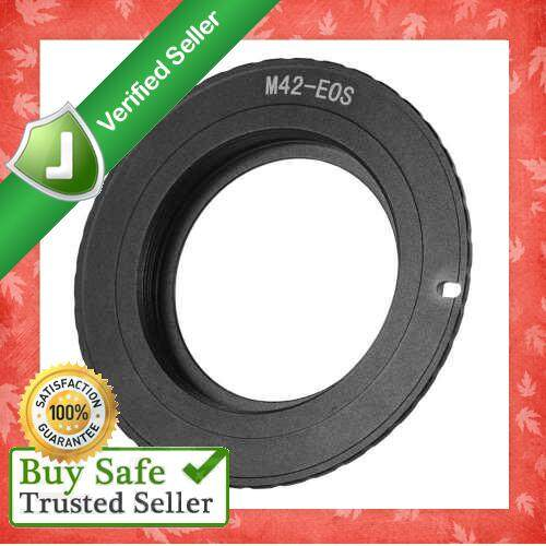 M42-EOS Adapter Ring for Canon Elan 7E EOS 30//33 EOS 7 EOS D30 650D 6D 350D 60D
