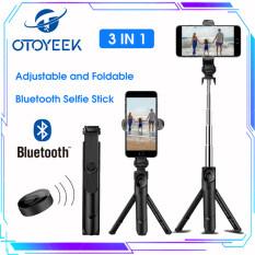 OTOYEEK Gậy Chụp Ảnh Tự Sướng Bluetooth Gậy Selfie Có Thể Mở Rộng Với Điều Khiển Từ Xa Không Dây Và Giá Đỡ Ba Chân Gậy Selfie Cho Điện Thoại Di Động Bluetooth Selfie Stick