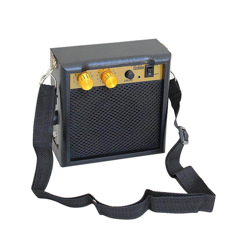 Kokko Pg-05 5w Dc 9v Electric Guitar Amplifier Speaker Mini Guitar Amp With Shoulder Strap For Acoustic Electric Guitar Parts By Dragonlee.