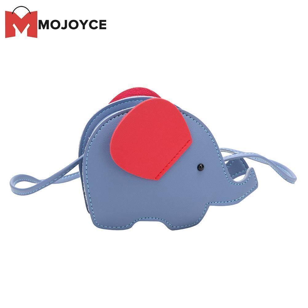 484266d6c501 MOJOYCE Cartoon 3D Elephant Bag Kids Girl Crossbody Messenger Bags Children  Purse