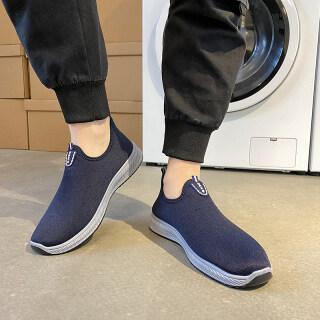 Giày Đi Bộ Đường Dài Của Nam, Giày Đi Bộ Đường Dài Nam Hàn Quốc Xuân Thu 2021 Giày Thể Thao Thường Ngày Có Thể Đeo Thoải Mái Phẳng Thoáng Khí Giày Đi Bộ Đường Dài Giày Thể Thao Nhẹ Chống Trượt thumbnail
