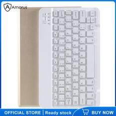 Bàn Phím Bluetooth Amorus, Bao Da Đứng Dành Cho Lenovo Tab M10 HD Gen 2 X306F