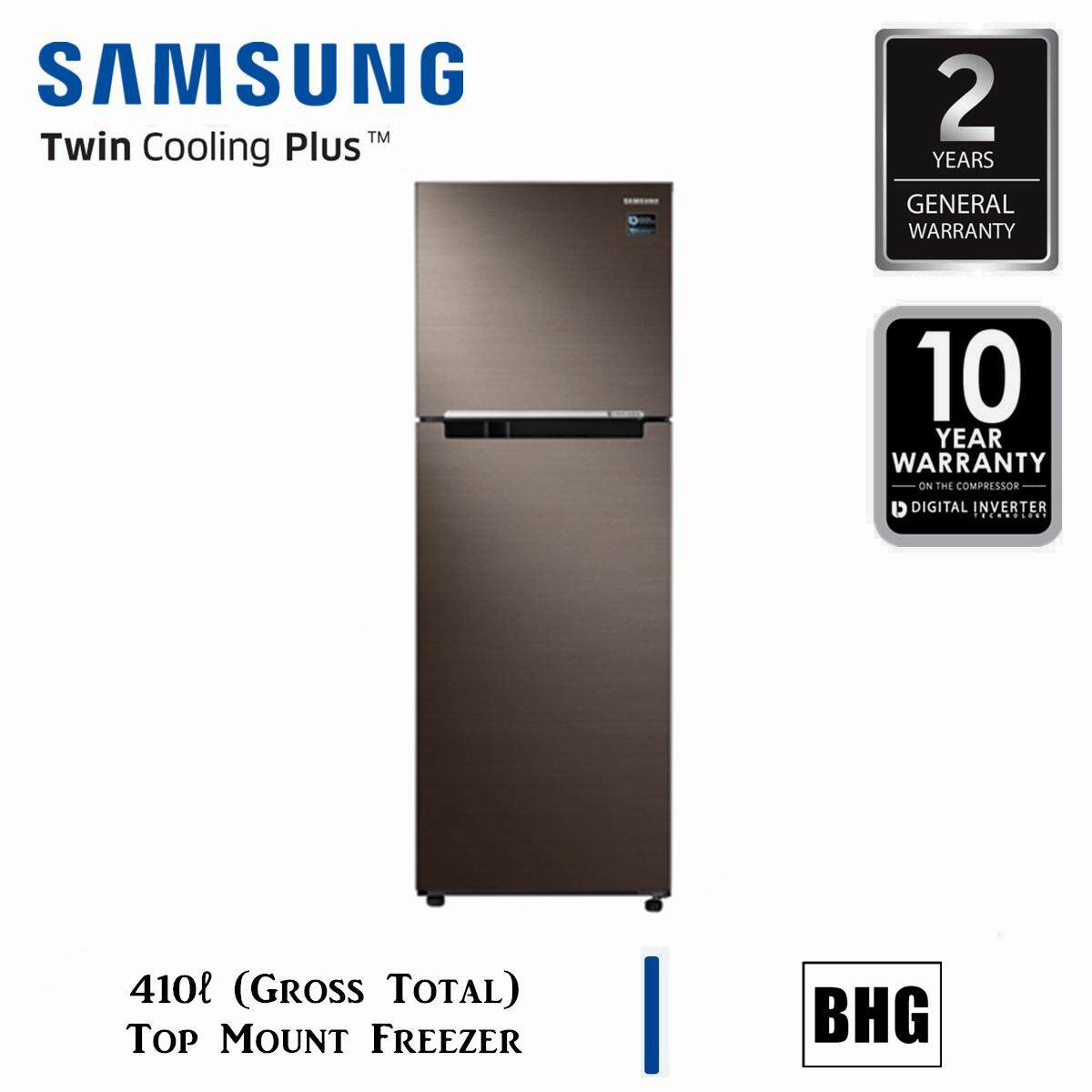 SAMSUNG 410L RT5000K TOP FREEZER WITH TWIN COOLING PLUS™ RT32K5052DX/ME