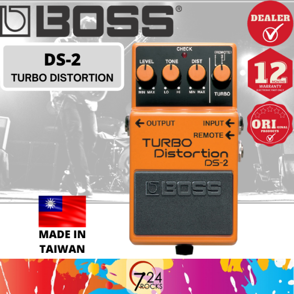 724 ROCKS Boss DS-2 Turbo Distortion Guitar Effect Pedal ( DS2 ) Malaysia