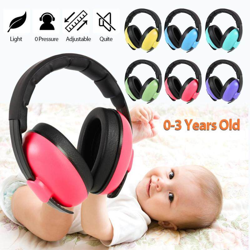Child Baby Ear Protector Soundproof Cover Sleeping Instrument Newborn Hearing Protector Noise Reduction Protector Folding Cover Toddler