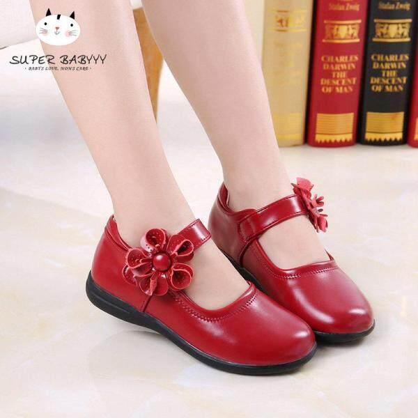 Giá bán SBY 1 Đôi Giày Công Chúa Hình Hoa Hướng Dương Cho Bé Gái, Chống Trượt, Thời Trang Thoáng Khí Cho Bữa Tiệc