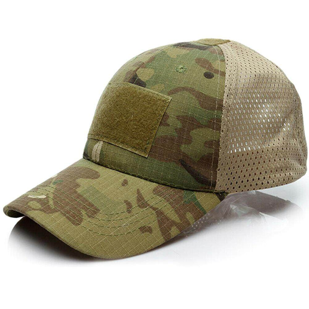 def5e6746 Yliho Unisex Camouflager Cap Mens Womens Adjustable Baseball Cap Outdoor  Golf Truck Hats Breathable Mesh Sun Protection Caps