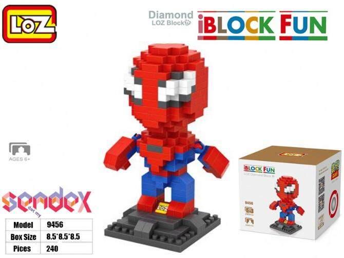 LOZ IBlock Fun 9456 - Marvel Spider Man 240pcs