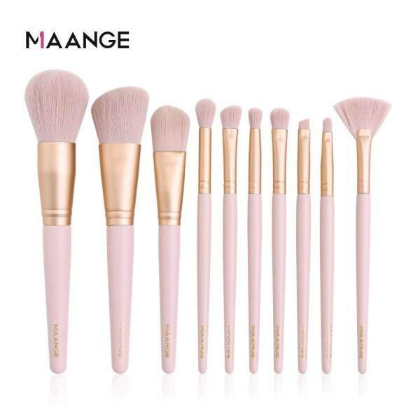 Buy MAANGE 10PCS Fashion Make Up Brushes Eye Shadow Foundation Powder Makeup Set Singapore