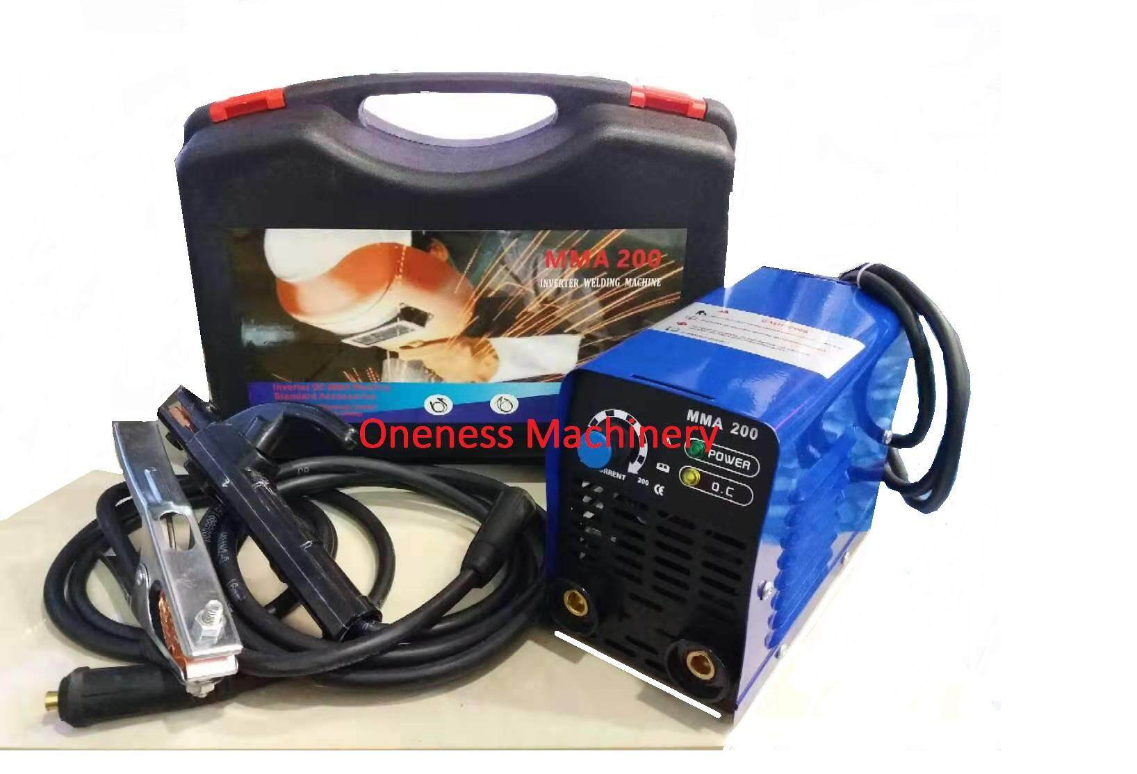 MMA 200 INVERTER WELDING MACHINERY SET
