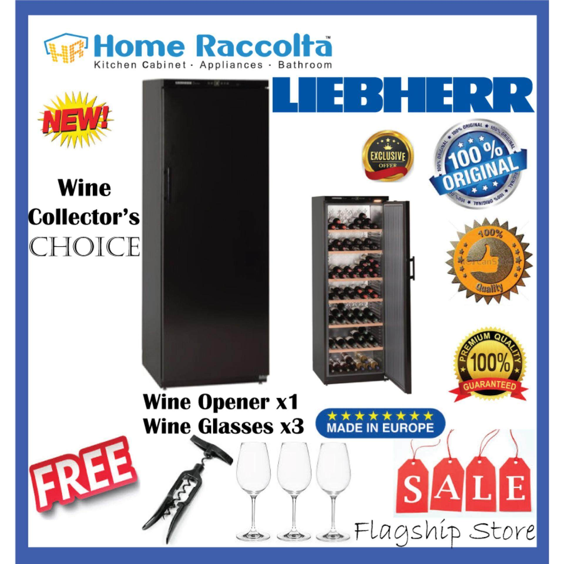 Liebherr Barrique Wine Chiller Wkb 4611 Barrique Wine Cellar Wkb4611 Full Solid Door (195bottles) By Home Raccolta