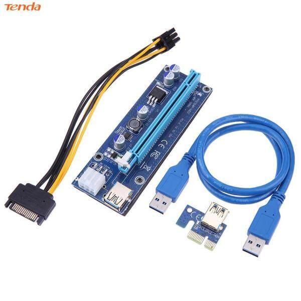 Bộ Chuyển Đổi PCI-E Riser1 X 16X PCI-E USB3.0 009S 60Cm Cáp Thẻ Cho BTC Miner