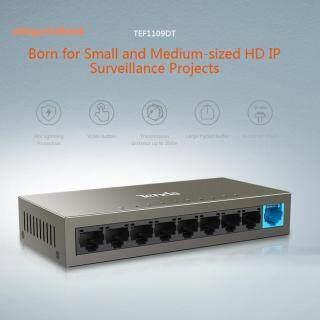 Bộ Chuyển Mạch Ethernet 9 Cổng 10 100Mbps, Dành Cho Các Dự Án Giám Sát IP Cỡ Trung Bình Nhỏ thumbnail