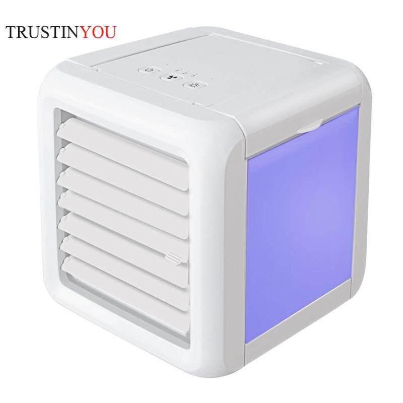 850mL USB Mini Portable Air Conditioner Humidifier Air Cooling Purifier Fan Singapore