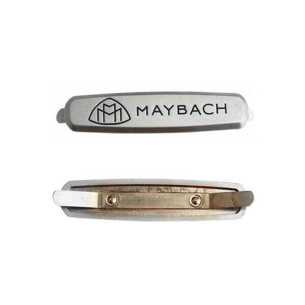 2 Logo Ghế Xe Hơi Đề Can Biểu Tượng Ghế Ô Tô Huy Hiệu Kim Loại Bạc Để Sửa Đổi Maybach Refit