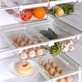 Hộp Đựng Tủ Lạnh Điều Chỉnh Được H & JOY Giỏ Ngăn Kéo, Ngăn Kéo Tủ Lạnh Trong Suốt Giá Đựng Đồ thumbnail