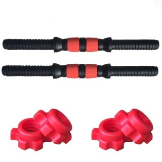 50cm Dumbbell Bars Gym Barbells Strength Training Workout Dumbbell Accessories Fitness Equipment thumbnail
