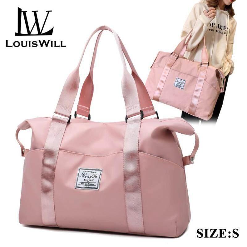 LouisWill Waterproof Travel Bag Women Weekender Bags Oxford Cloth Luggage Handbag Shoulder Bag Duffle Luggage Travel Storage Bag for Business Trip Gym Exercising Traveling