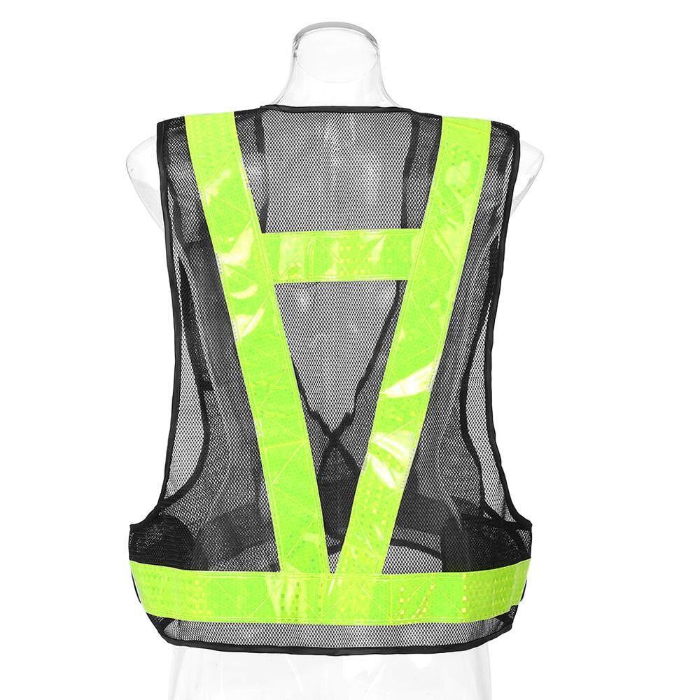 V-Shaped Reflective Safety Vest Traffic Safety Clothing High Visibility Night Running Reflective Vest Night Overalls