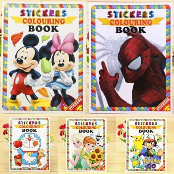 COLOURING BOOK FOR CHILDREN (BUY 5 BOOK FREE 1 BOOK) Malaysia