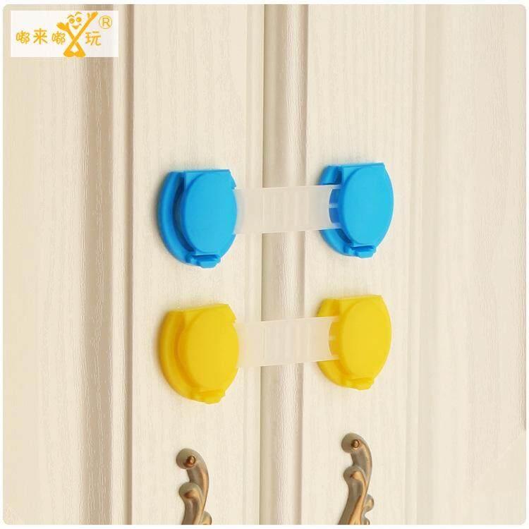 10pcs Door Drawer CabInet Safety Locks For Child Kids Baby T1