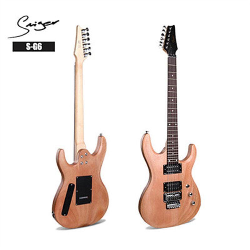Smiger G6 Electric Guitar Super Strat Floyd Rose Mahogany Top 24 Fret Humbucker Malaysia