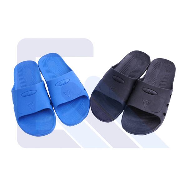 Blue/Black SPU antistatic slipper one take Six holes esd slipper for clean room