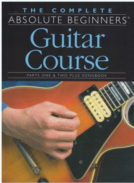 The Complete Absolute Beginners Guitar Course / 15CM x 21CM / Music Book / Gitar Book / Guitar Book Malaysia