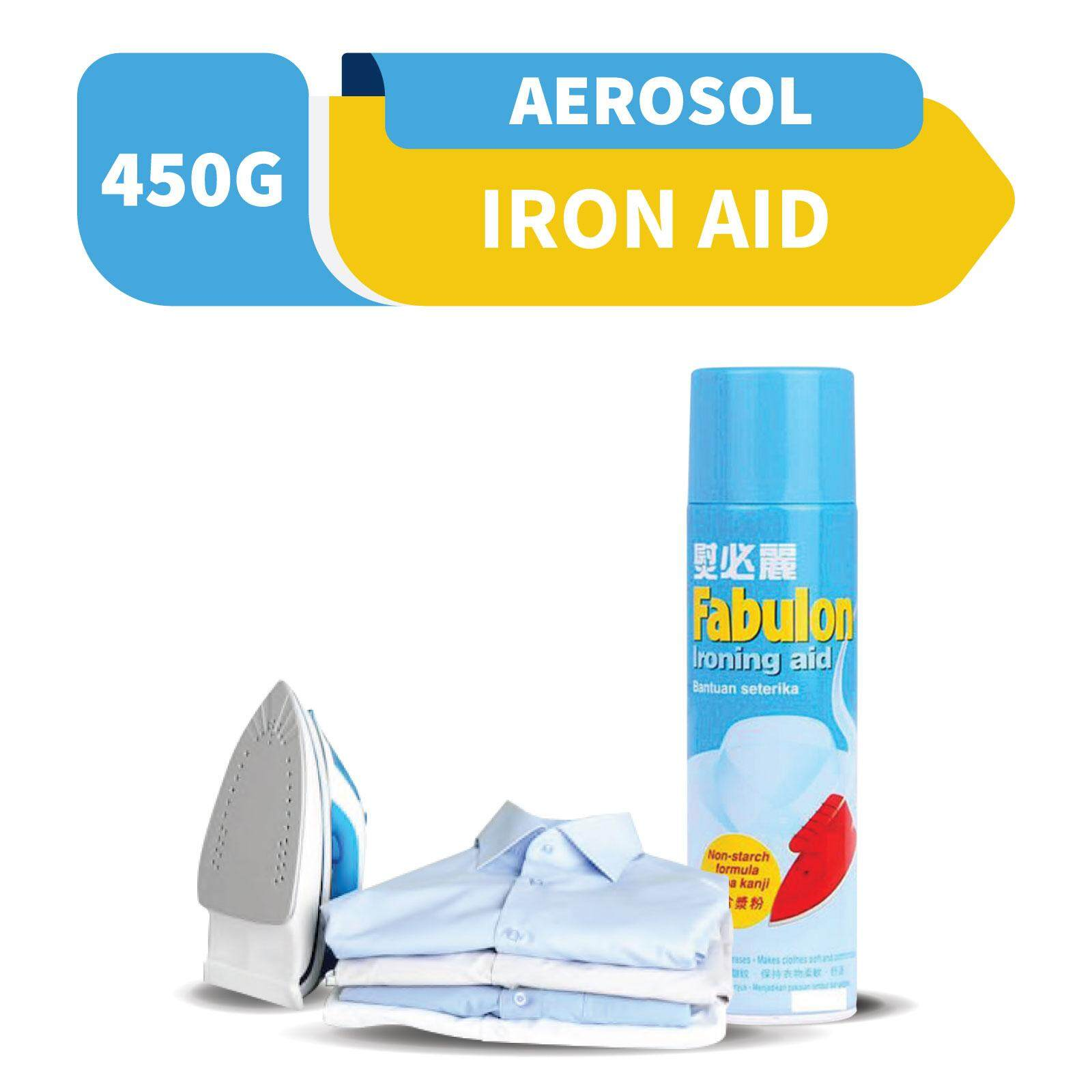 Fabulon Ironing Aid Aerosol 450g By Rb Home.