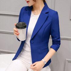Áo Khoác Vest Ngắn Áo Blazer Nữ Dáng Ôm Phong Cách Hàn Quốc Hợp Thời Trang Thu Đông Mới 2020 Áo Khoác Ngoài
