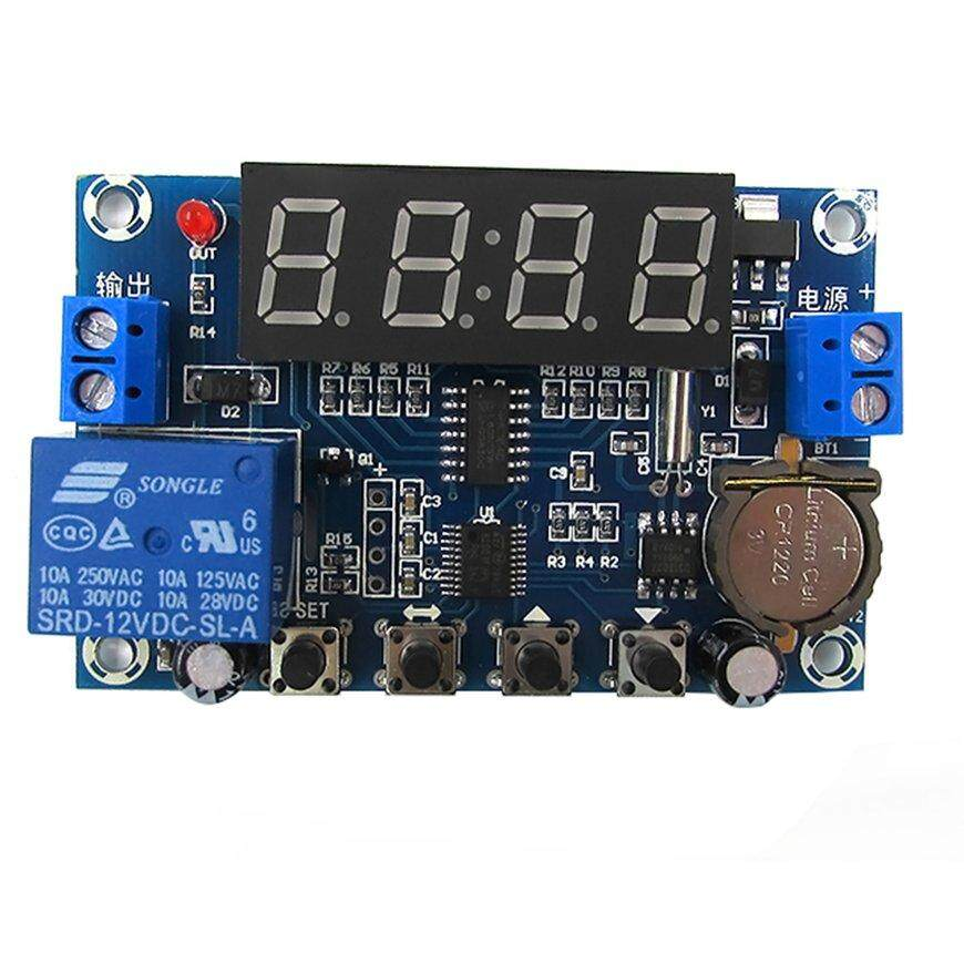 PKPNS XH-M196 Clock Control Module Timer 24-hour Time Controller Synchronization