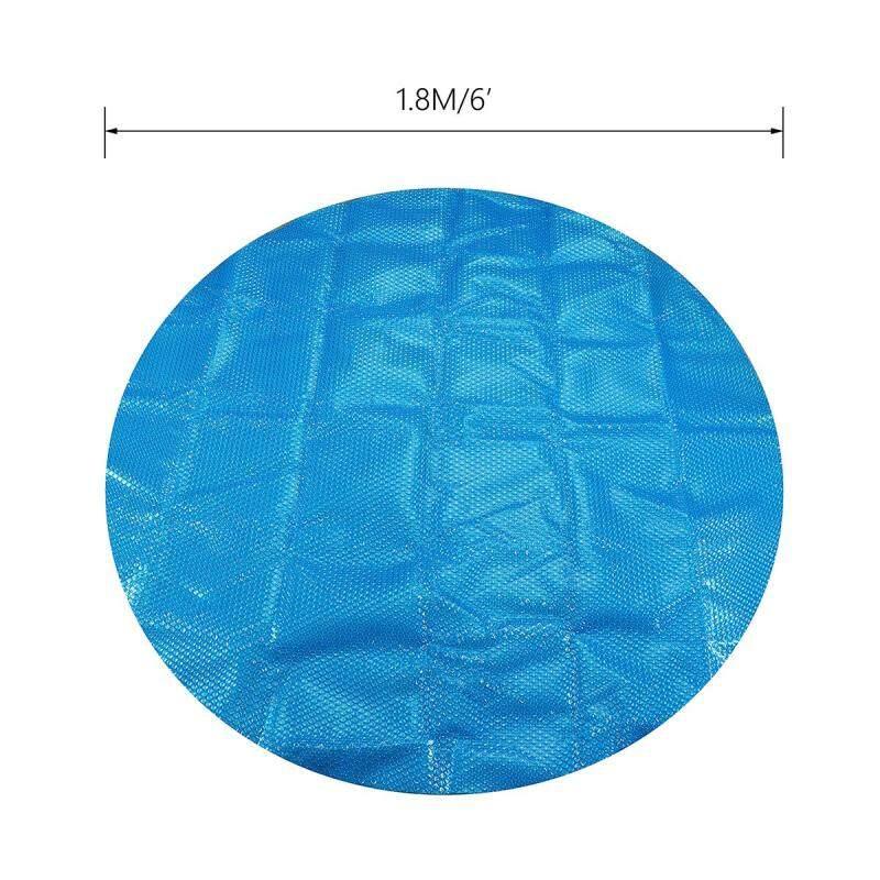 6ft/7ft Tròn/Vuông Bể Bơi Nước Nóng Bao Chăn Spa Bao Giữ Ấm Spa Tấm Bảo Vệ Ngoài Trời Chống Tia UV chống bụi Tai