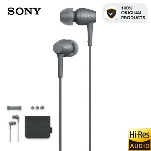 SONY Original IER-H500A H.ear in 2 Hi-Res Earphone 3.5mm Wired Jack Audio In-Ear Headphones Stereo Music Gaming Earphone Headset Hands-free with Mic For ios iPhone and Android Huawei/Xiaomi/oppo/vivo/Samsung Singapore