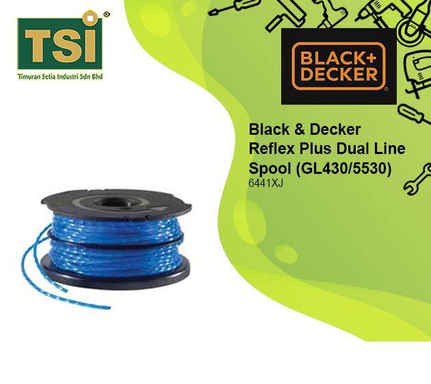 BLACK & DECKER TRIMMER SPOOL & LINE GL5530 (A6441-XJ)