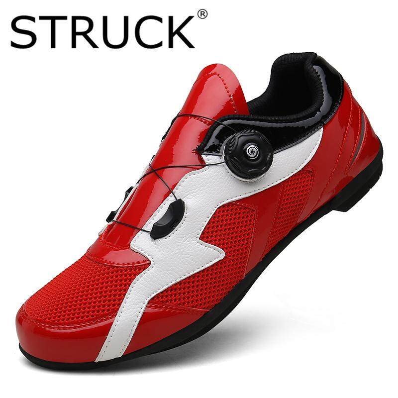 fced6d32246 STRUCK Outdoor Men's Cycling Shoes Bicycle Shoes Non-Locking Power Bicycle  Shoes Spin Buckle
