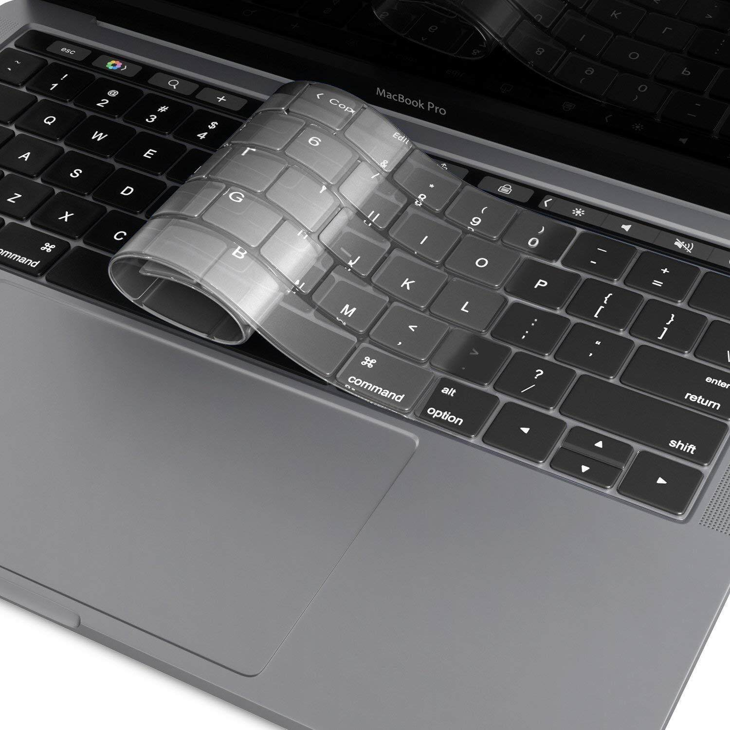 Silicone Keyboard Cover Skin For MacBook Pro 2019 13.3 inch A2159 with Touch Bar